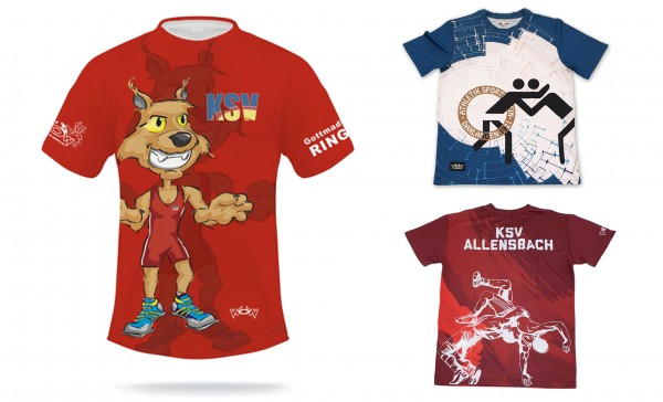 15 Individualisierte T-Shirts Kinder