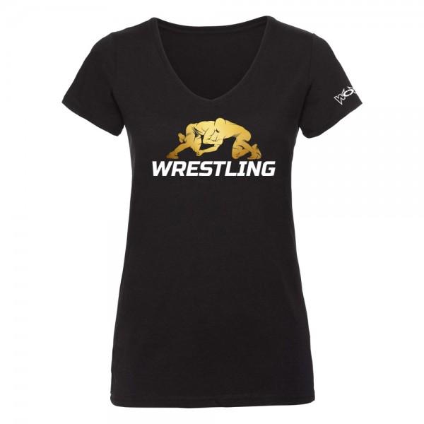 Wrestling T-Shirt Ringen Damen
