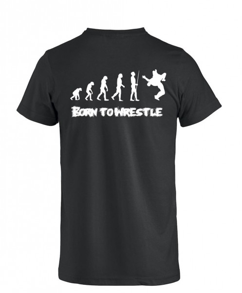 Born to wrestle 2 T-Shirt Kinder