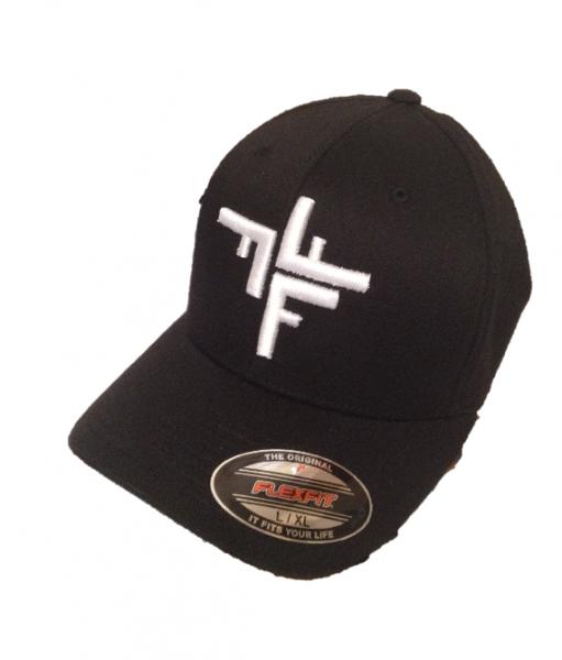 FFF-Mütze Flexfit schwarz