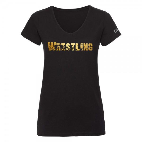 Wrestling T-Shirt Damen