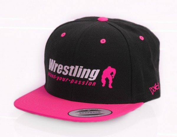 Neon Kappe Wrestling Brand Your Passion Snapback Pink