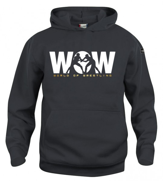 WoW World of Wrestling Hoody Kinder