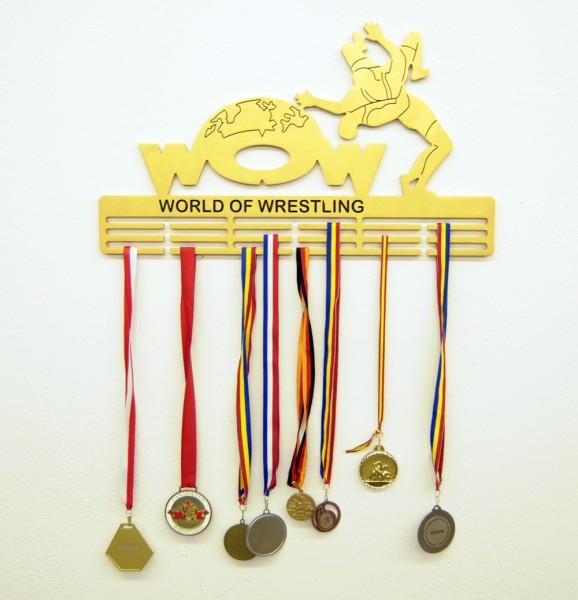 Medaillenhalter World of Wrestling