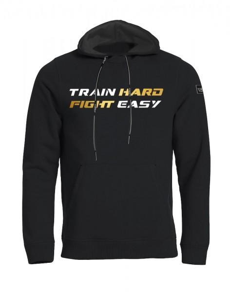 Train Hard Fight Easy Hoody Herren