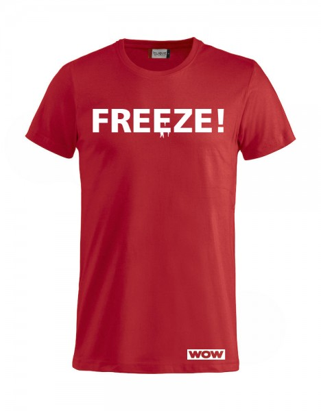 WOW Freeze Tshirt Damen / Herren