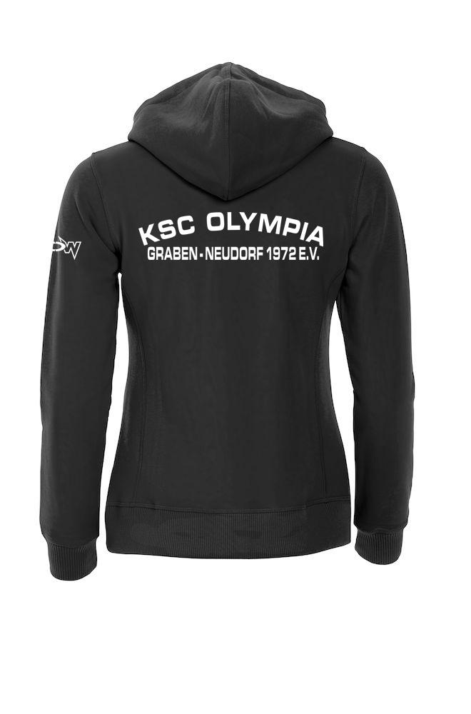 buy online dca0a 8acb9 Graben-Neudorf Hoody Schwarz Damen