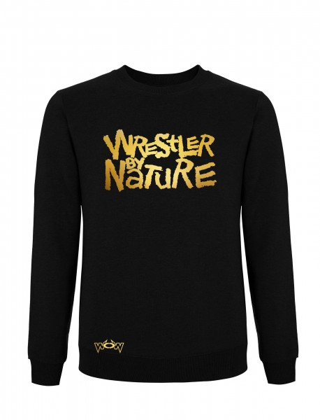 Wrestler by Nature Pullover Schwarz