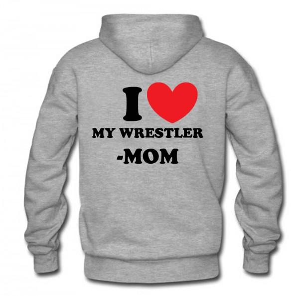 I Love Ringer-Mutti Hoodie