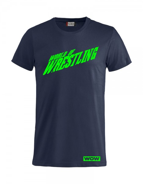 World of Wrestling T-Shirt Demen / Herren