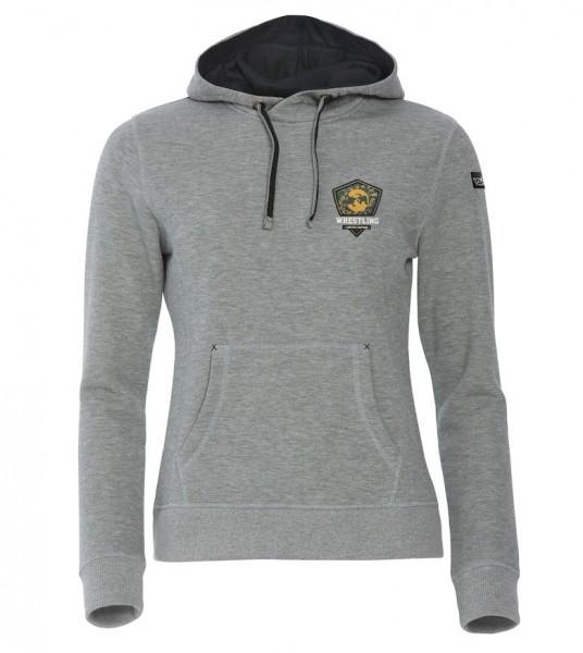 Hoody Limited Edition Damen Grau