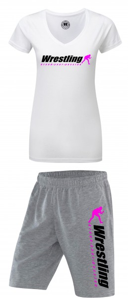 Kombi Angebot T-Shirt + Short Brand Your Passion Damen