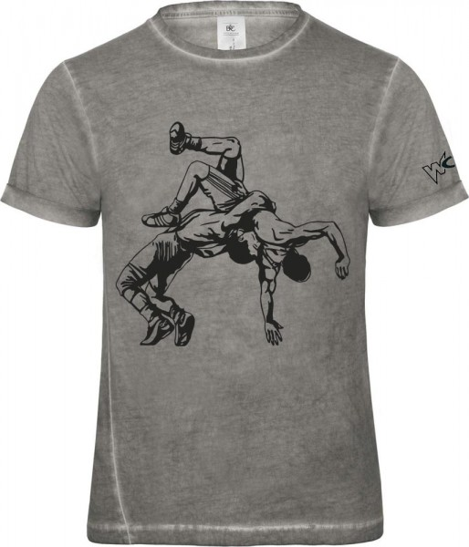 Ringer Style T-Shirt - Herren