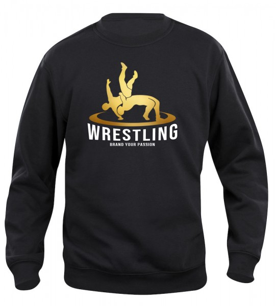 Wrestler in Action Pullover