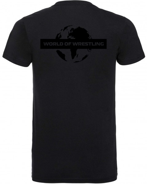 World of Wrestling Weltkugel T-Shirt