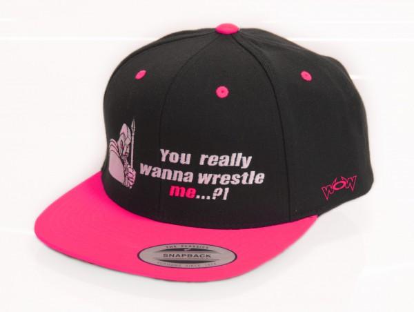 Kappe You really wanna wrestle me ? Pink