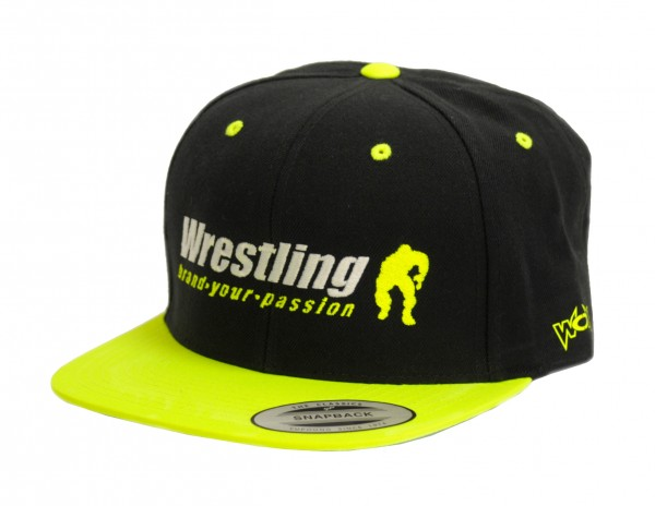 Neon Kappe Wrestling Brand Your Passion Gelb