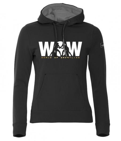 WoW World of Wrestling Hoody Damen