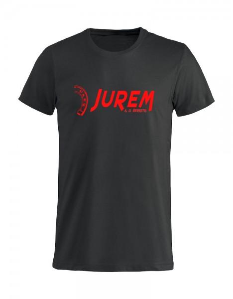 Jurem T-Shirt Schwarz mit Druck Kinder
