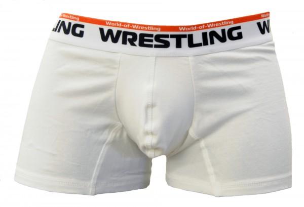 Unterhose Wrestling - Weiß