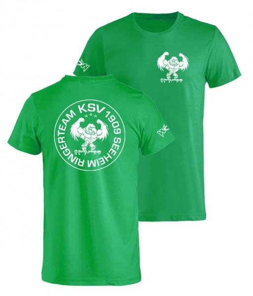 Seeheim T-Shirt Grün Adler Damen / Herren