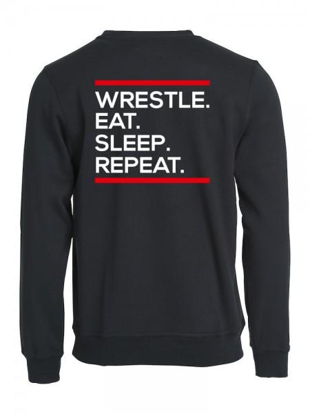 Wrestle Eat Sleep Repeat Pullover