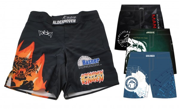 25 Individualisierte MMA-Short Kinder