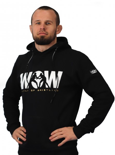 WoW World of Wrestling Hoody Herren