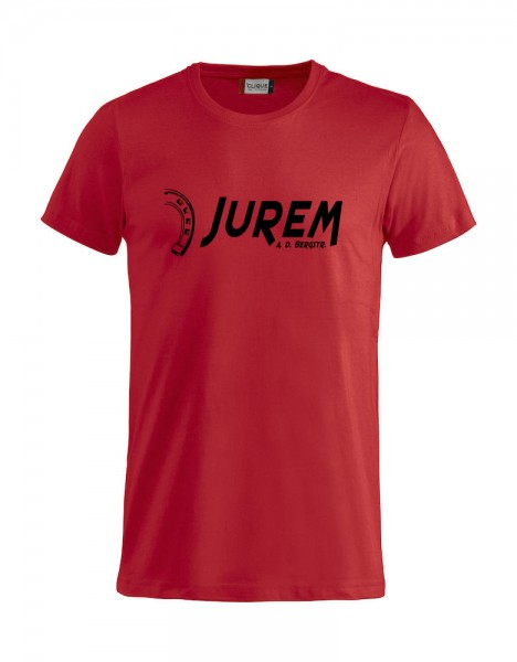 Jurem T-Shirt Rot mit Druck Kinder