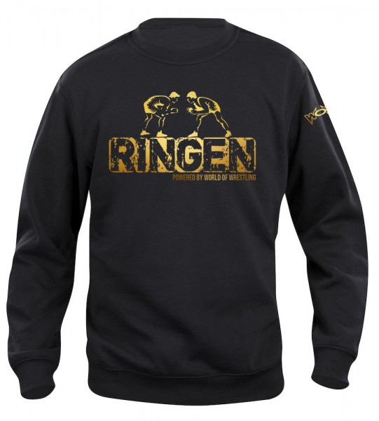RINGEN Powered By World of Wrestling Pullover