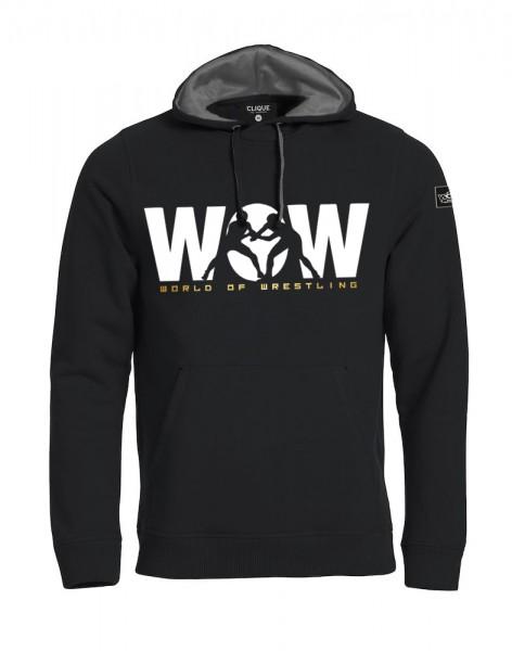 WoW World of Wrestling Hoody Herren