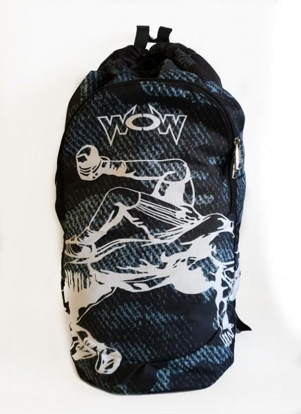 Training Rucksack Backpack Ringer schwarz