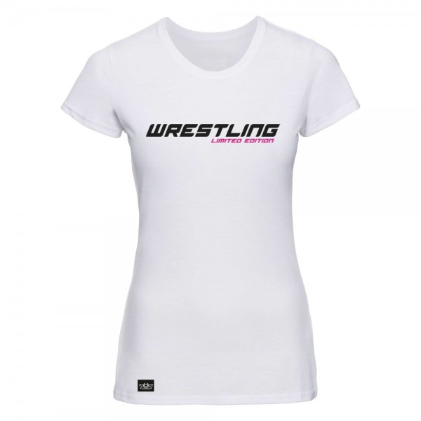 T-Shirt Limited Edition Pink Weiß
