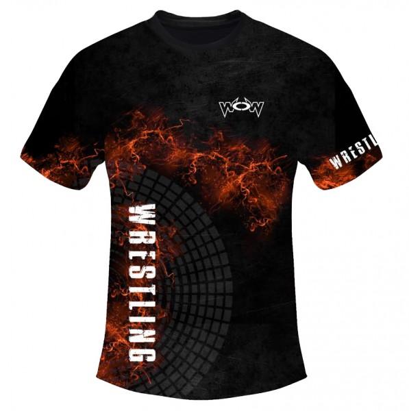 T-Shirt Flammen Kinder