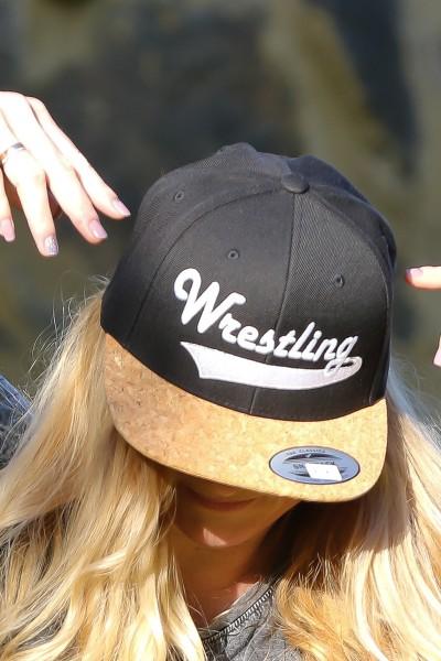 Kork Wrestling Kappe Weiß